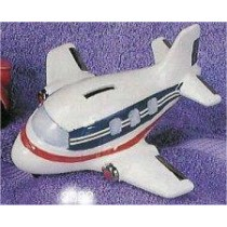 "Airplane Bank 7""L"