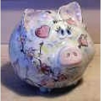 """Piggly Bank 7""""L"""