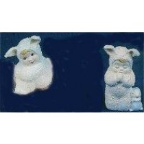"""Bunny Babies Praying & Sitting 2.75""""T"""