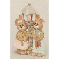"Bunny Lamp 12""t Light Kit purchased sep."