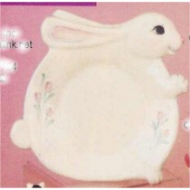 "Bunny Plate 13""L"