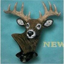 """Deer Bust 7.5""""T"""