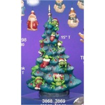 "Frog Tree Lite Up 15""T"