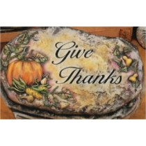 Give Thanks Slab 10""