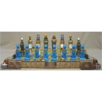 DH Egyptian Chess Set Board included