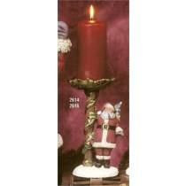 "Santa Candle Holder 8.5""T"
