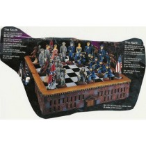Civil War Chess Set Board includedUnpainted