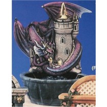 "DH Castle/DragonFountain 17""T"