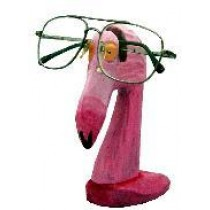 Flamingo Eyeglass Holder 6.4""