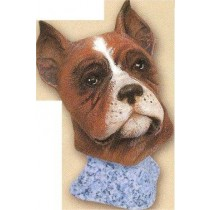 "Boxer Bust 4.25""t"