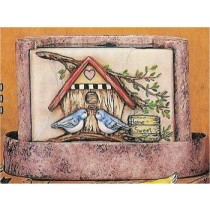 "Birdhouse Fountain 11x7""t"