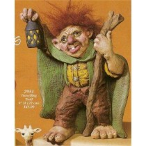 """Traveling Troll 9""""T Hair Not Included"""