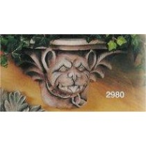 BullDog Gargoyle Shelf 11""