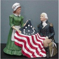 Betsy Ross & George 9""
