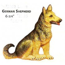 "2269 German Shepherd 6.75""t"