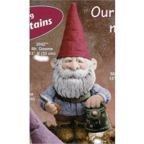 "Gnome w/Spade&Watering Can 13""H"