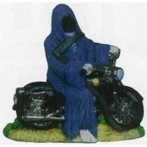 """Grim Reaper on Motorcycle 8""""T"""