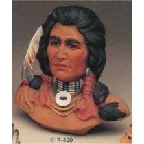"Cheyenne Brave Bust 11"""