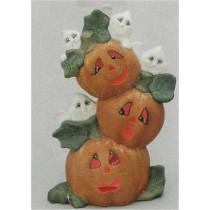"Pumpkins & Ghosts 12""T"
