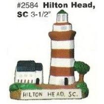 """Hilton Head Lighthouse 3.5"""""""