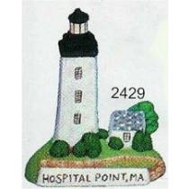 "Hospital Point Lighthouse 4""t"