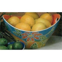 "Mayco Bowl w/Handles Cut Out 11.75""w x 6""t"