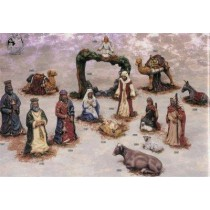 "Kimple's Sm. Nativity/ Standing Camel 7""tall"