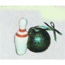 Bowling Ornament 2.75""