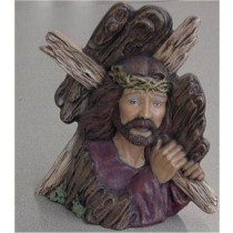 Jesus w/Cross 8 1/4""