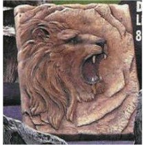 Lion Plaque 8x9:
