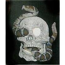 """Skull & Snake 7.5x6"""""""
