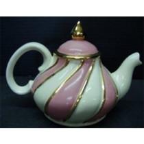 """Swirl Teapot 6""""t."""