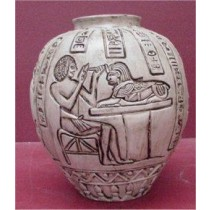 """Egyptian Vase 18""""T Unpainted"""