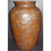 "Large Textured Vase 15""t"