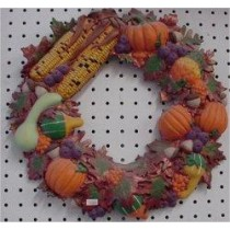 "Autumn Wreath 16""D"
