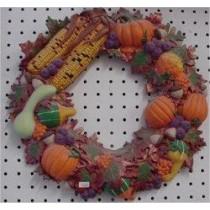 "Autumn Wreath 16""D"