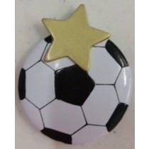 "KP Soccer Ball Orn. 2.5""x3"""
