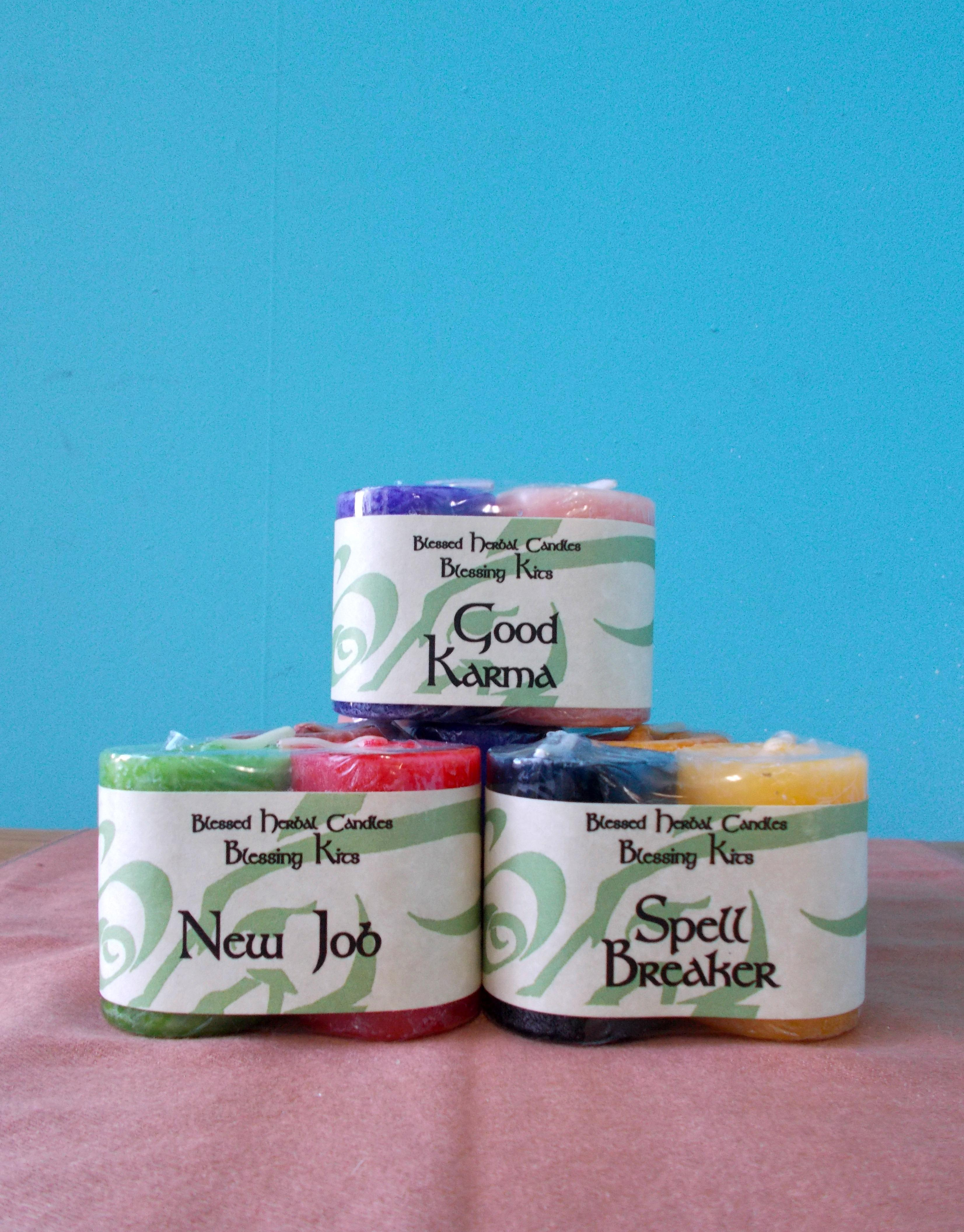 Blessed Herbal Candle Blessing Kits - Correct Choice