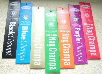 Nitiraj Natural Incense Sticks - Green Champa - Balance