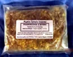 Bulk Resin - Mystic Temple Incense: Frankincense & Myrrh