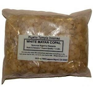 Bulk Resin - Mystic Temple Incense: White Mayan Copal
