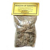 Mystic Temple Charcoal, Burning Resin Incense - Benzoin of Sumatra
