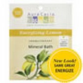 Aura Cacia Mineral Bath Salts - Energizing Lemon
