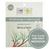Aura Cacia Mineral Bath Salts - Meditating Cedarwood