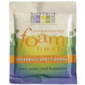 Aura Cacia Aromatherapy Foam Bath - Patchouli/Sweet Orange