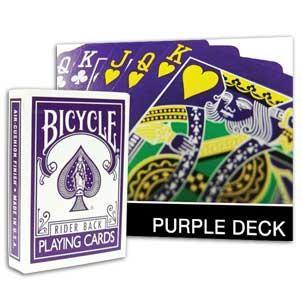 Bicycle Purple Deck
