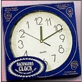 Back Wards Clock