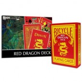 Red Dragon Deck - Bicycle