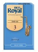 Rico Royal Tenor Sax (French File Cut) Box of 10