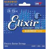 Elixir light Guitar strings light. 10-46 Nanoweb